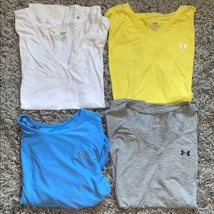 Small under armour shirts